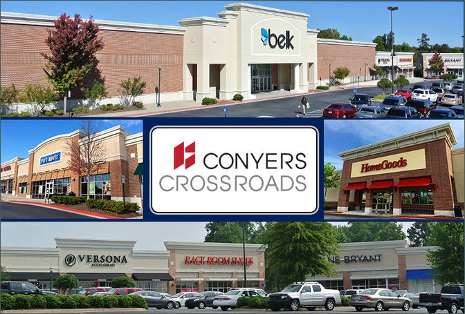 Conyers Ga Conyers Crossroads Retail Space For Lease